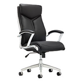 Realspace Verismo Bonded Leather Executive High