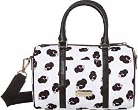 Alice + Olivia Nina Small Printed Nylon Gym Bag