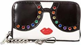 Alice + Olivia Avril Stace Face Small Wallet