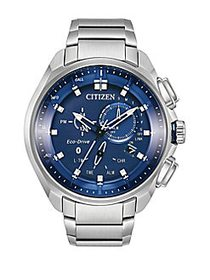 Citizen Eco-Drive Proximity Pryzm Stainless Steel