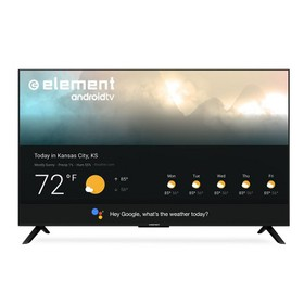 "Element 55"" 4K UHD Smart Android TV with Google As"