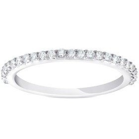Pompeii3 1/4ct Diamond Wedding Ring 14k White Gold
