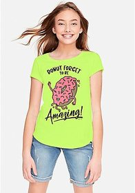 Justice Donut Forget to Be Amazing Graphic Tee