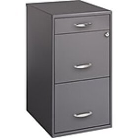 Office Designs 3 Drawer Vertical File Cabinet, Cha