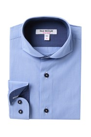 Isaac Mizrahi Stripe Dress Shirt (Big Boys)
