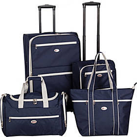 American Flyer 4 Piece Luggage Set