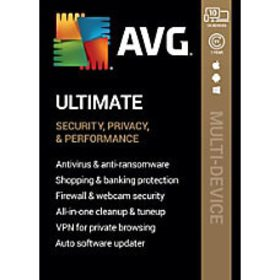 AVG Ultimate Software For 10 Devices