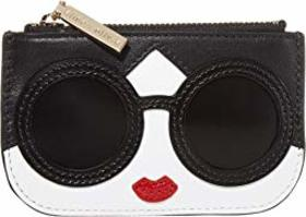 Alice + Olivia Lili Stace Face Coin Pouch Key Char