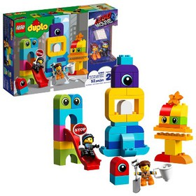 THE LEGO MOVIE 2 Emmet and Lucy's Visitors from th