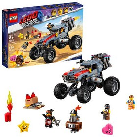 THE LEGO MOVIE 2 Emmet and Lucy's Escape Buggy! 70