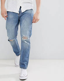 Rollas Stubs Rolled Jeans Orignal Stone Wash Buste