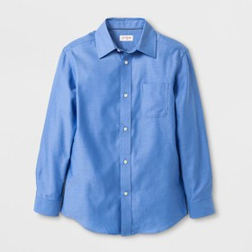 Boys' Long Sleeve Button-Down Shirt - Cat & Jack&#