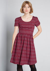 ModCloth ModCloth What's the Scoop? A-Line Dress B
