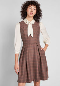 ModCloth ModCloth Touch of Structure A-Line Dress