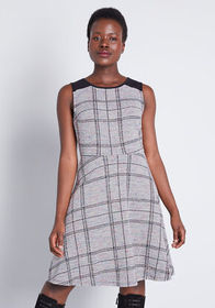 ModCloth ModCloth Smiling From the Top A-Line Dres