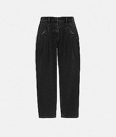 Coach denim and lace jeans