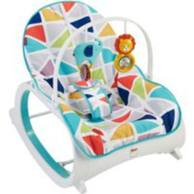 Fisher-Price Infant-To-Toddler Rocker, Green with