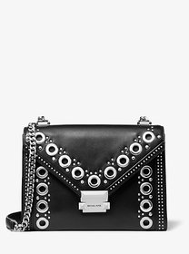 Michael Kors Whitney Large Grommeted Leather Conve
