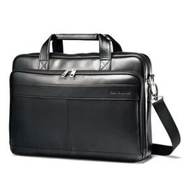 Samsonite Samsonite Leather Slim Brief in the colo