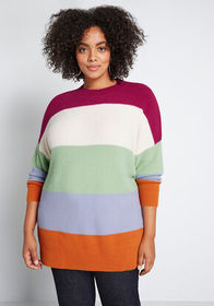 ModCloth ModCloth Fuzzy Business Pullover Sweater