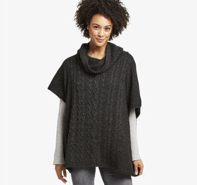 Johnston Murphy Cable Cowlneck Pullover