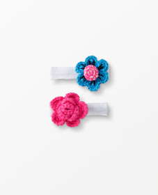 Hanna Andersson Handcrafted Hair Clip in Flowers -