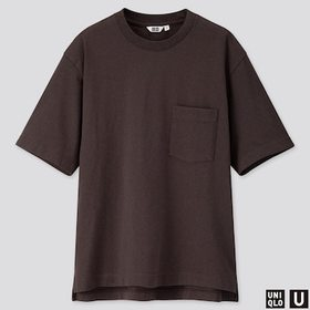 MEN U OVERSIZED CREW NECK SHORT-SLEEVE T-SHIRT, DA