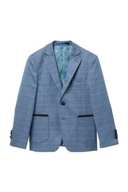 Isaac Mizrahi Plaid Blazer (Toddler
