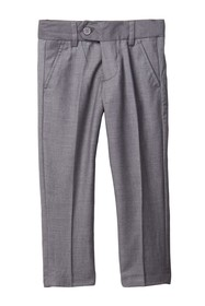 Isaac Mizrahi Slim Wool Blend Pants - Husky Sizes