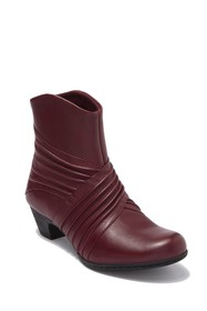 Rockport Brynn Ruched Leather Boot