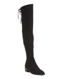 High Shaft Low Heel Boots