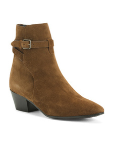 Made In Italy Suede Boots