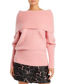 Armani - Oversized Off-the-Shoulder Sweater