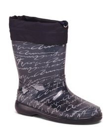 Made In Italy Printed Rain Boots (Little Kid)