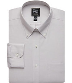 Jos Bank Traveler Collection Slim Fit Button-Down