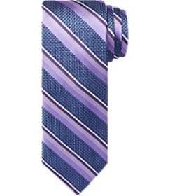 Jos Bank Reserve Collection Multi-Stripe Tie - Lon