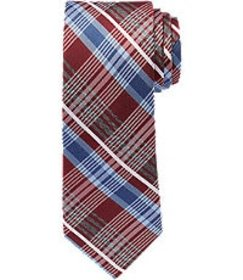 Jos Bank Reserve Collection Plaid Tie CLEARANCE