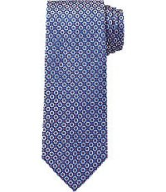 Jos Bank Traveler Collection Micro Check Tie - Lon
