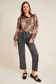 Anthropologie Relaxed Utility Pants