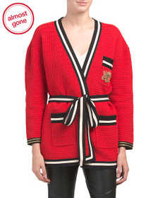 GUCCI Made In Italy Oversize Knit Cardigan