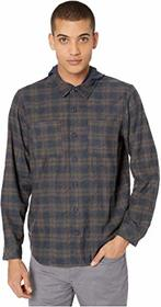 Hurley Crowley Washed Hooded Flannel