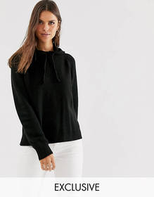 Micha Lounge relaxed knitted hoodie