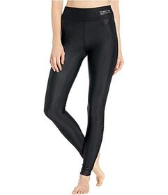 Bebe Sport Rouched Shine Leggings
