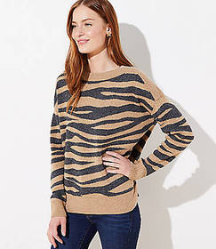 Tiger Striped Sweater