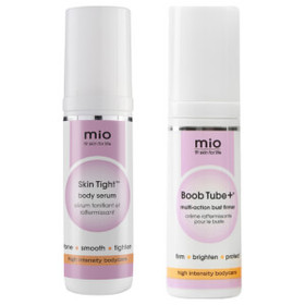 Mio Skincare Skin Tight and Boob Tube+ Travel Size
