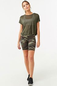 Forever21 Active Semi-Sheer Tee