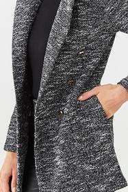 Forever21 Double-Breasted Tweed Blazer