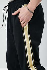 Forever21 Side-Striped Drawstring Joggers