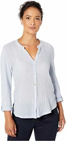 Lucky Brand Double Gauze Sleeve Shirting