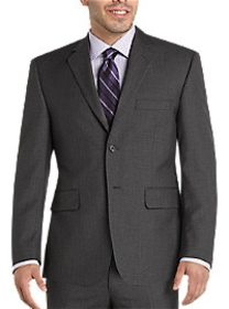 Wilke Rodriguez Gray Extra Short Modern Fit Suit